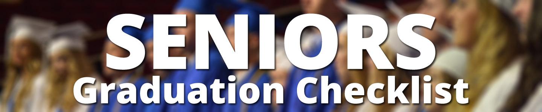 Seniors Graduation Checklist Banner Image
