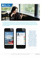 Blue Cross Mobile App