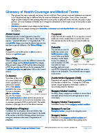 Glossary of Health Coverage and Medical Terms