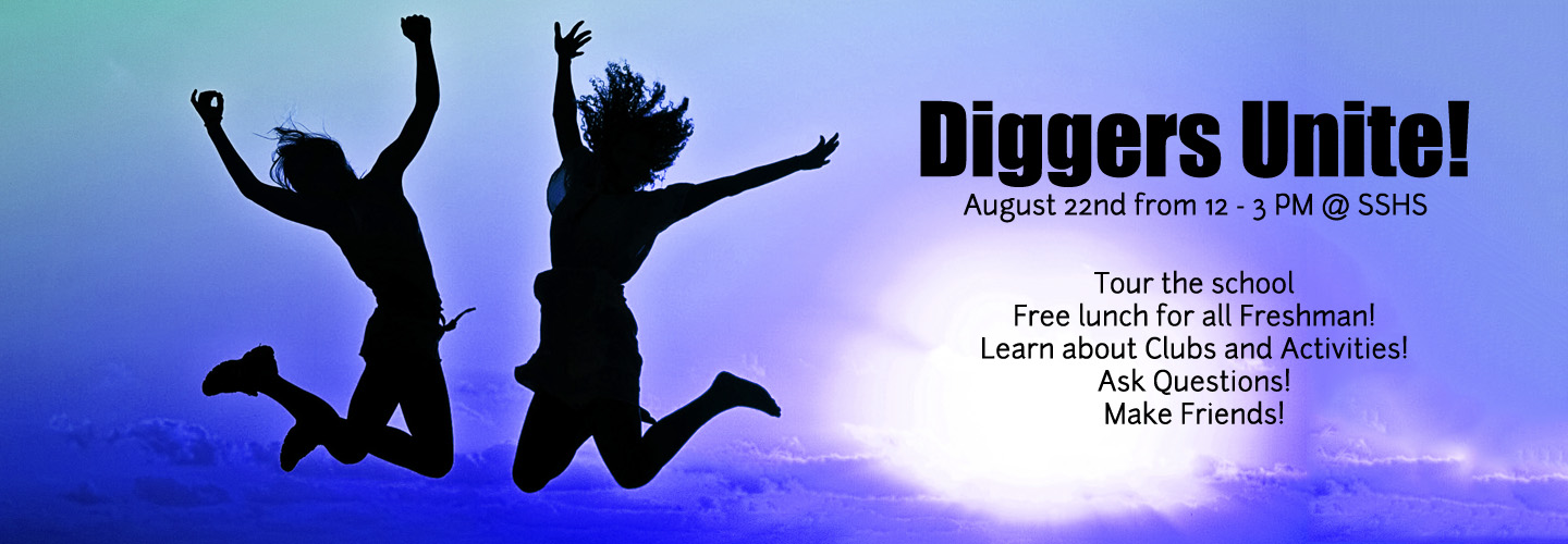 Diggers Unite - August 21st - 12 PM - 3 PM @ SSHS