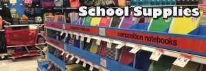 School Supplies Banner Image