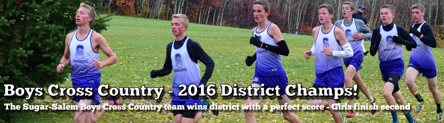 Boys Cross Country Wins District – Girls Take 2nd