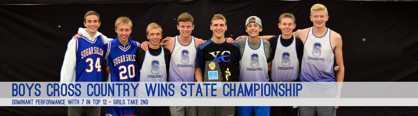 Cross Country boys win state--girls take 2nd