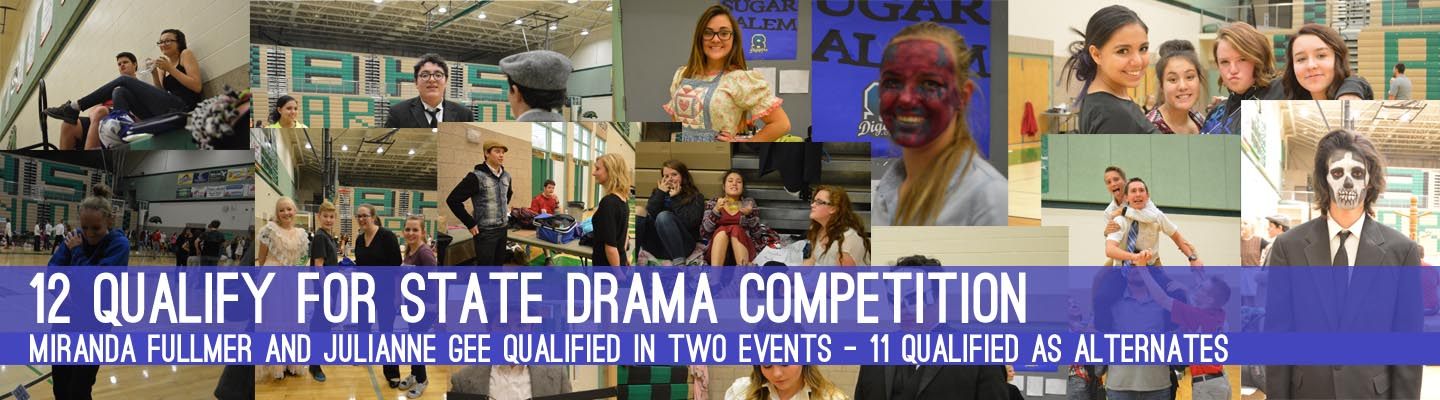 District Drama Sends 12 to State
