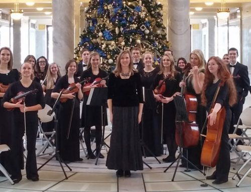 Orchestra Plays at the Utah Capitol