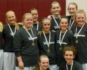 SSJHS - Girls District Champions