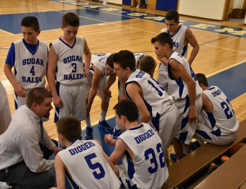 Junior High Boys Basketball Having a Successful Season
