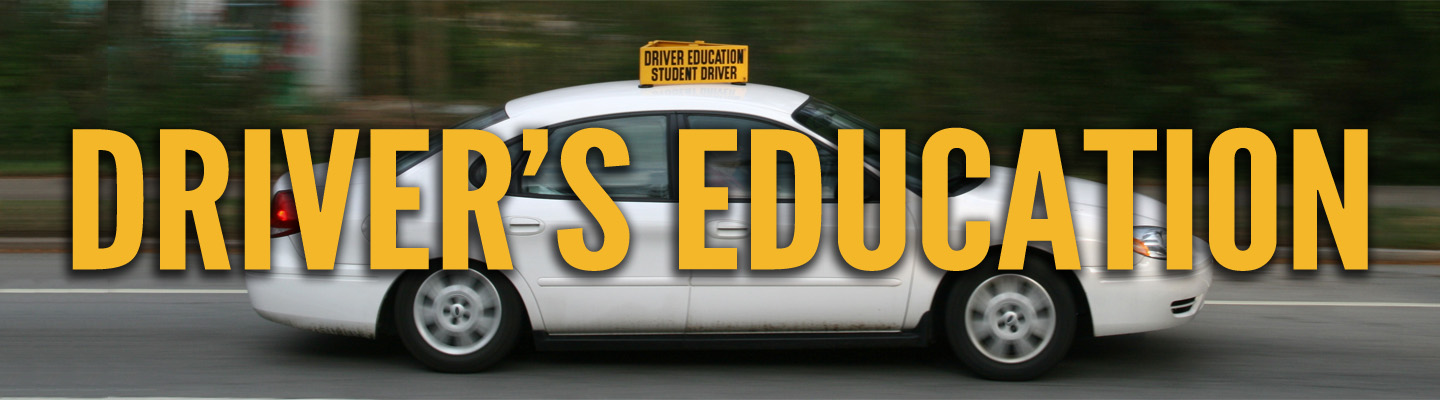 Driver's Education banner image