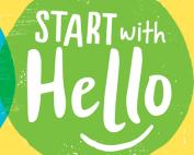 Hello Week Banner Image