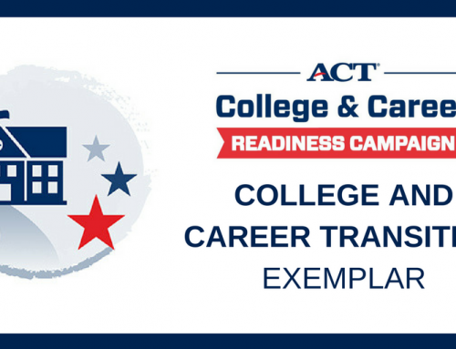SSHS Named ACT Exemplar