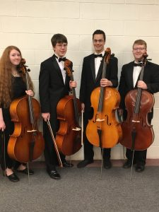 Sevanna Baird, Grant Coleman, Jeremiah Daybell, and Kaleb Maughan