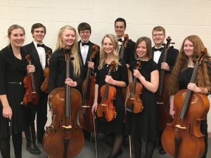SSHS Orchestra State Qualifiers