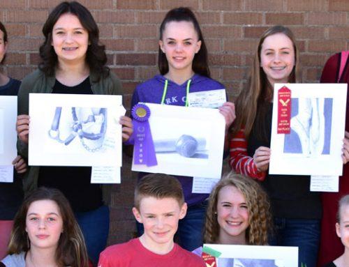 Students Win Big at Bank of Idaho Art Show