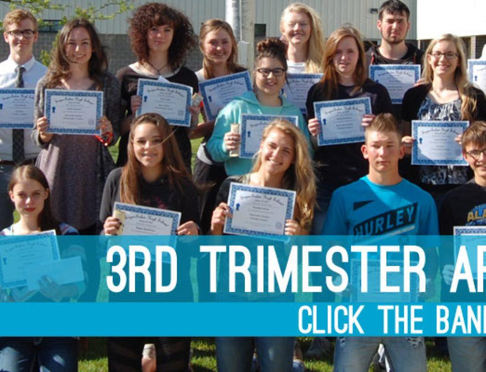 3rd Trimester Art Show Winners