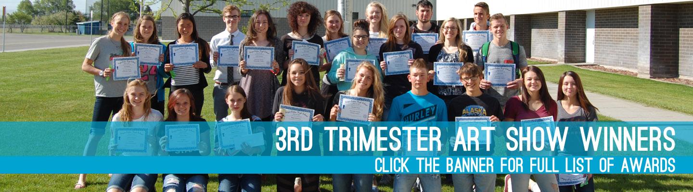 3rd trimester art show winners, click the banner for full list!