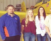 Jr High Students Tour Flight Museum