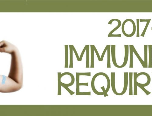 2017-2018 Immunization Requirements