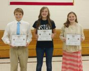 SSJHS Patriot's Pen Winners - 2017