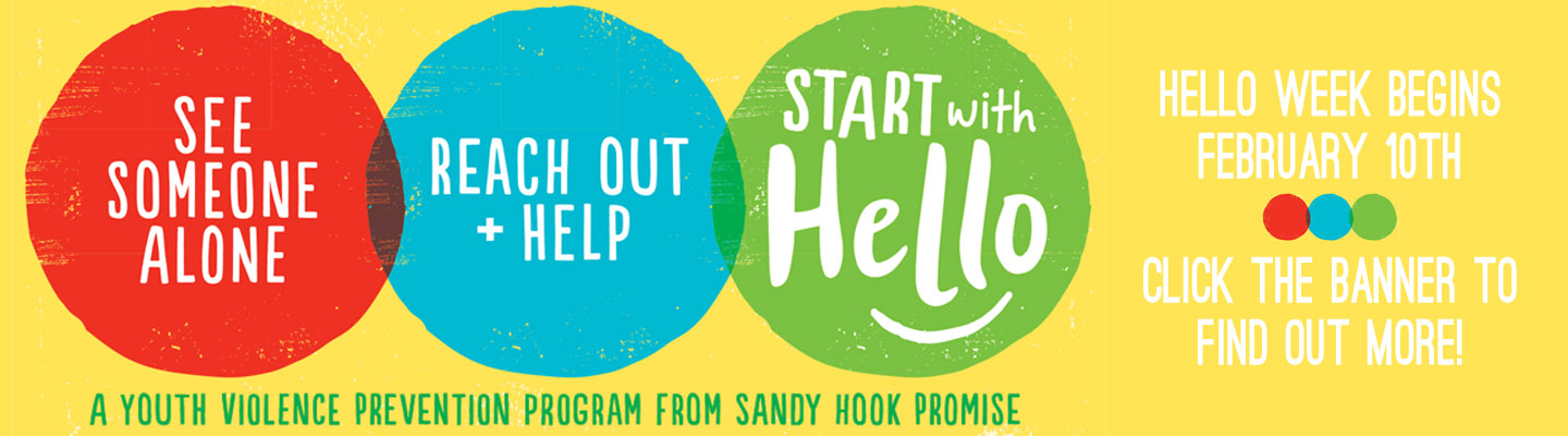 Click for more information about the starts with hello campaign!