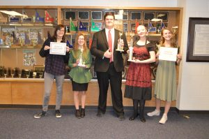 SSHS Speech and Debate Winners