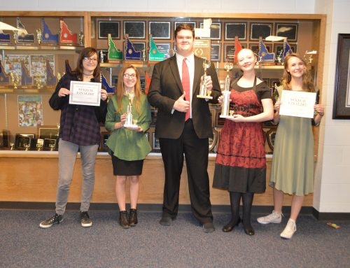 Speech and Debate Win Big at Rigby Competition