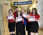 Students who qualified for state FCCLA conference.