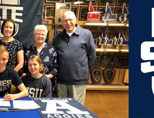 Brennan Anderson Signs with USU