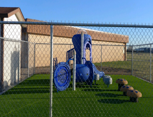 New Playground for Preschoolers