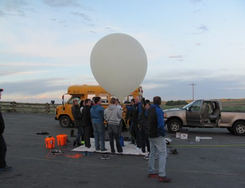 SSHS Students Launch High-Altitude Balloon