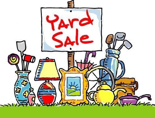 Community Yard Sale at Sugar-Salem High School