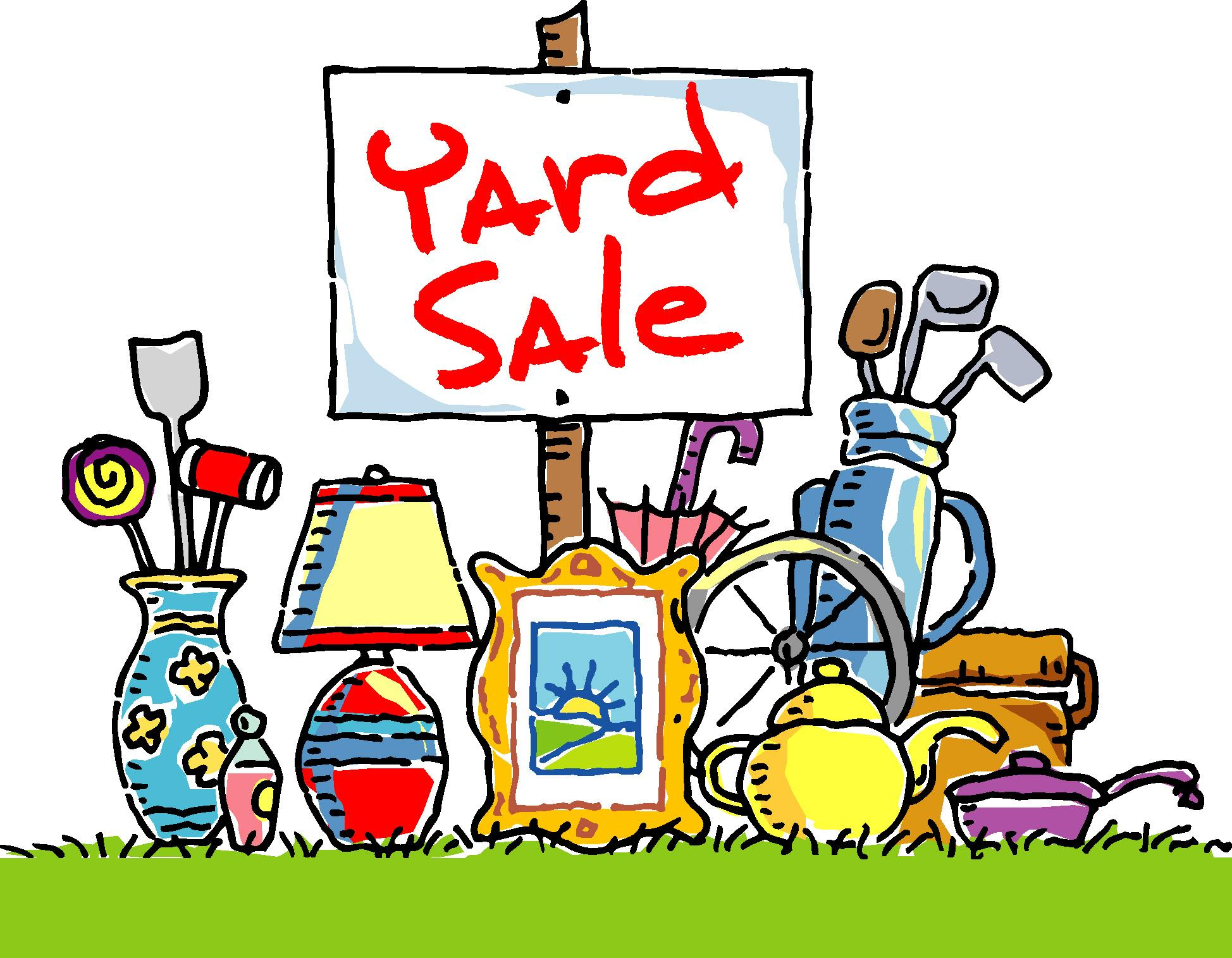 Community Yard Sale on May 5th! Click for more information!
