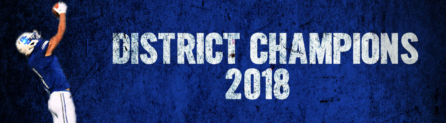 SSHS Football - District Champions 2018