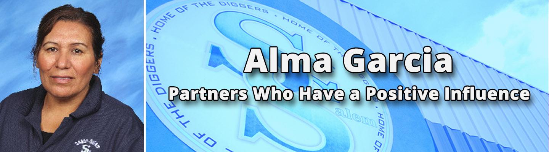 Alma Garcia - Partner Who Has a Positive Influence
