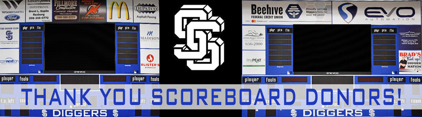 Thank you scoreboard donors!