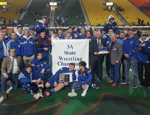 Wrestlers Three-Peat for State Title