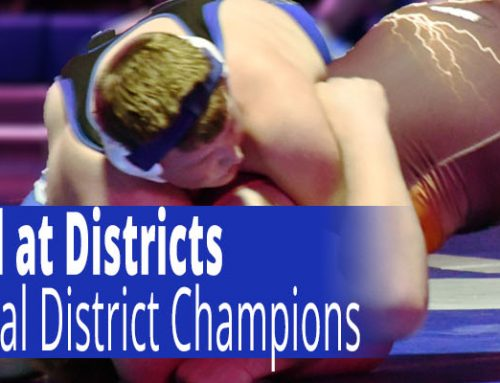 Wrestlers Take 2nd at District