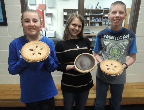 Sugar-Salem Junior High Students Memorize Pi for Pi Day