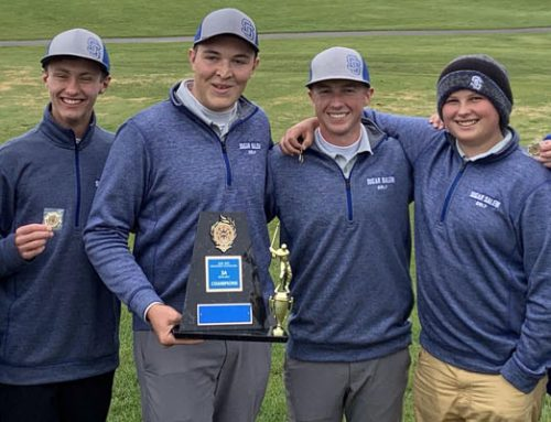 Golf Wins District Title