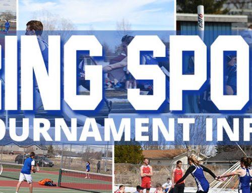 Spring Sports District Tournament Information