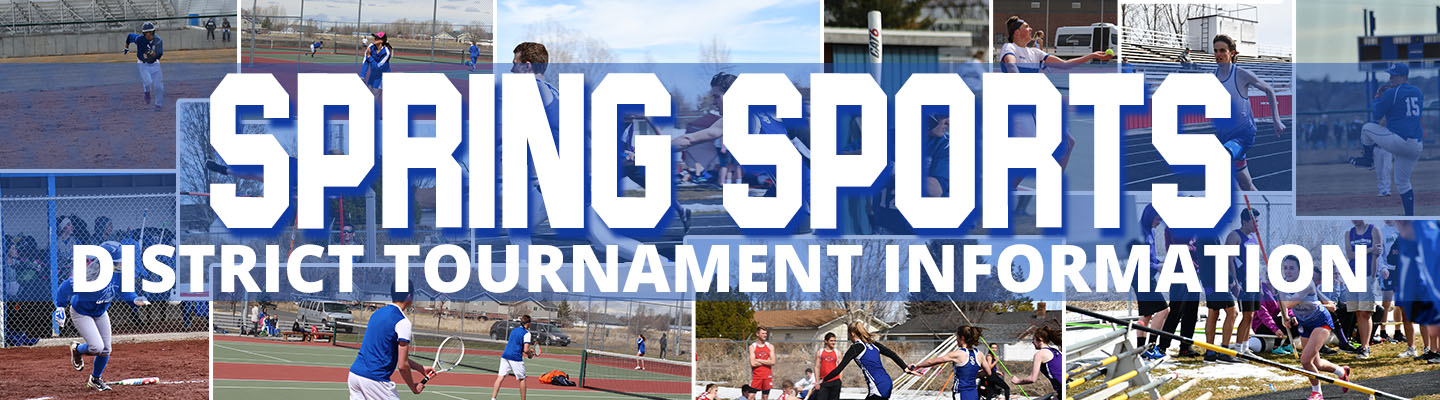 Spring Sports District Tournament Information