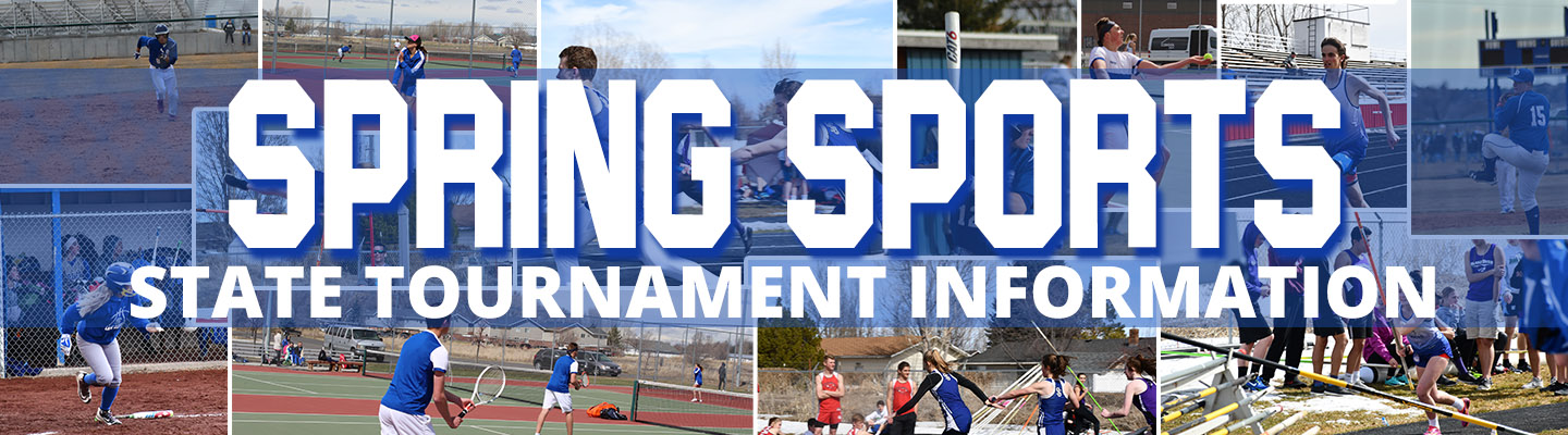 Spring Sports State Tournament Information