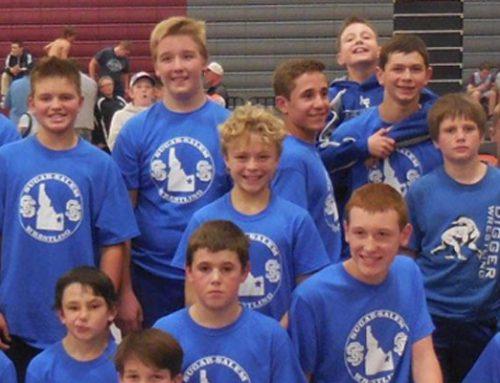 SSJHS Wrestlers Compete in Teton Tournament