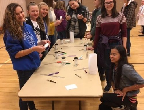 8th Graders Participate in Girls STEM Conference at BYU-Idaho