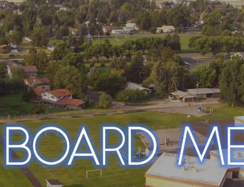 Special Board Meeting – April 15th