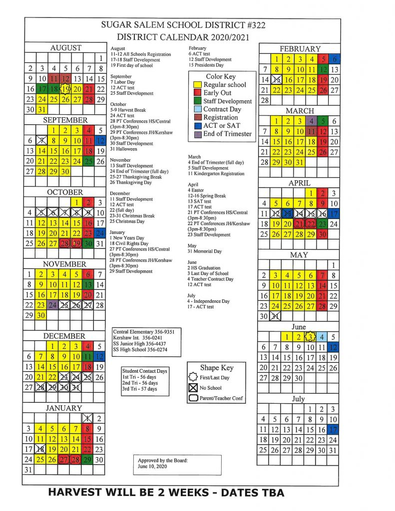 See below for PDF version of the calendar. Please contact jgee@sugarsalem.com if you are looking for a more accessible format.