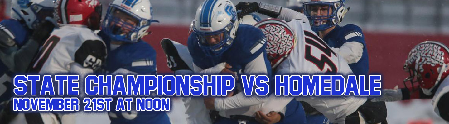State Football Championship VS Homedale