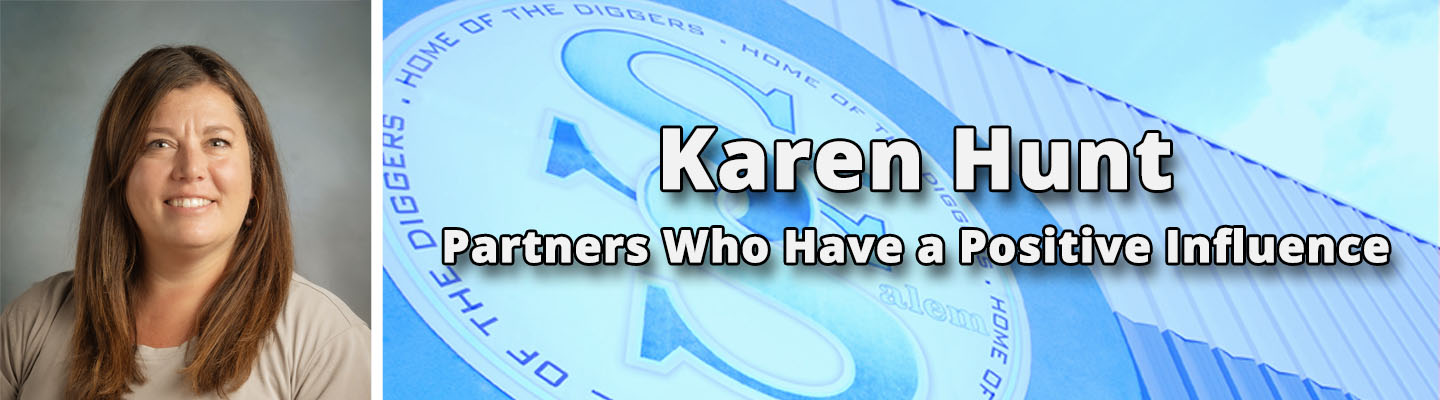 Partners Who Have a Positive Influence: Karen Hunt