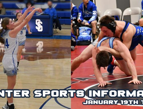 Sports Information – Week of January 19th to January 23rd