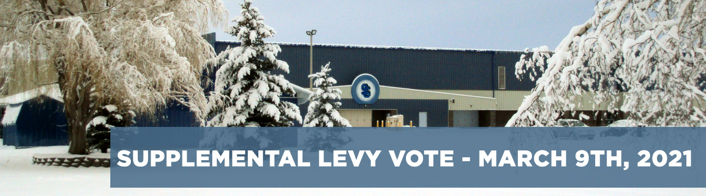 Supplemental Levy Election - March 9th 2021 - Click for more information.