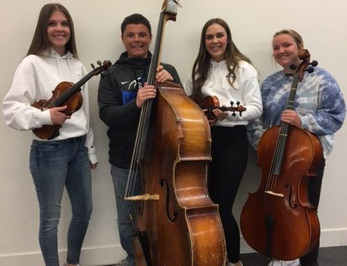 Superior Ratings at District VI Solo and Small Ensemble Festival earned by Orchestra Students!